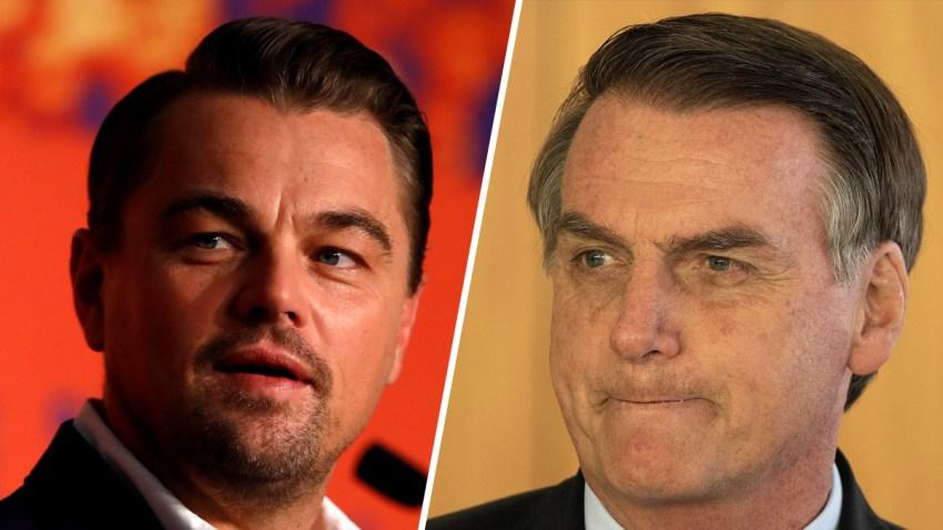 Combo-Leonardo-Dicaprio-Bolsonaro-EFE