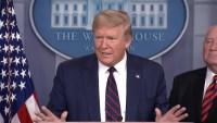 Trump descarta cuarentena para el área triestatal, pero ordenan fuerte restricción de viajes