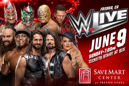 WWE LIVE FLYER