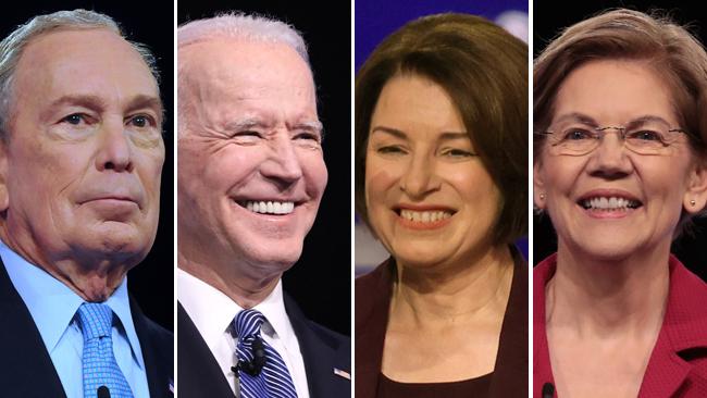 Precandidatos democratas