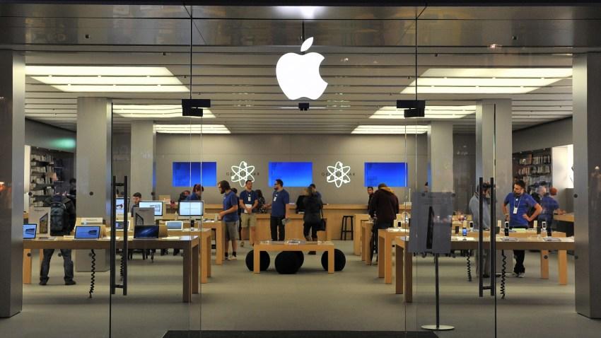 Foto genérica de una tienda Apple.