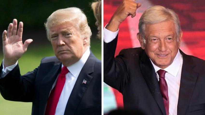 Presidentes de EEUU y México