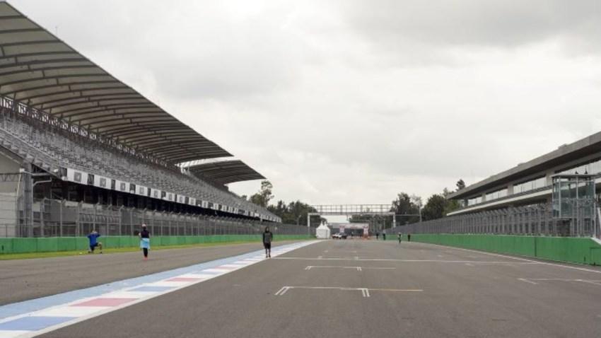 Pista del autódromo Hermanos Rodríguez