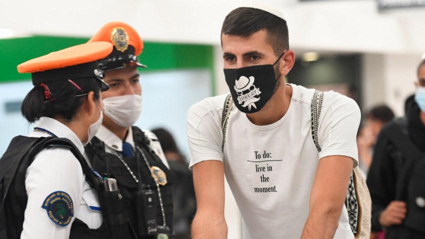 Revisión en Aeropuerto Internacional de Ciudad de México