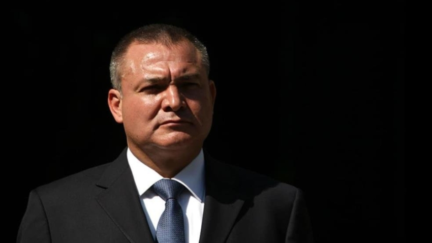 Exministro mexicano preso Genaro García Luna.