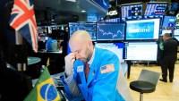 Wall Street vuelve a desplomarse por el coronavirus