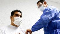 Nicolás Maduro recibe la primera dosis de la vacuna rusa contra el COVID-19