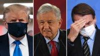 COVID-19 sí afecta a los políticos: recuento de los casos más sonados en América