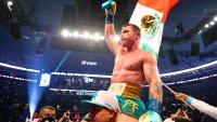 """""""Canelo"""" Álvarez vence al  campeón invicto Billy Joe Saunders y le quita el cinturón"""