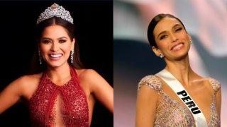 Imágenes de Miss Universo 2021 y de Miss Perú en trajes de gala