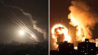 Israel responde con misiles a bombardeo enemigo; hay al menos 20 muertos