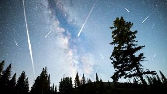 Espectáculo en el cielo: así se vio la lluvia de estrellas