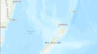 Fuerte terremoto causa breve alarma en Nueva Zelanda