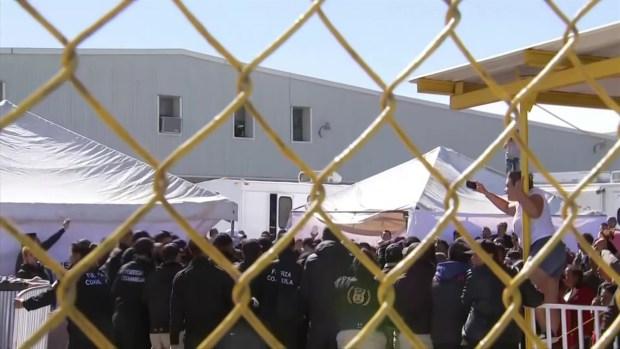 [TLMD - SA] Se desata protesta en albergue de migrantes en Piedras Negras