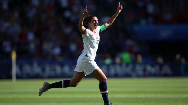 [TLMD - Denver] Carli Lloyd mete el primer gol para EEUU