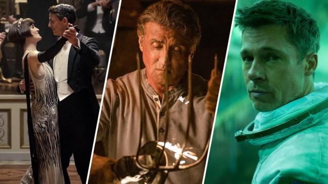 """""""Rambo"""", """"Downtown Abbey"""" y """"Ad Astra"""" llegan al cine"""
