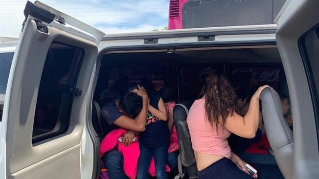 Crisis migratoria: interceptan a 167 en Veracruz