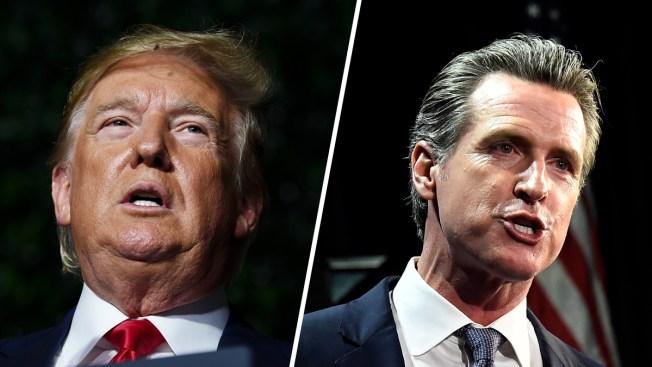Trump demanda a California por ley que le obligaría revelar impuestos